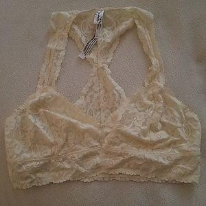 NEW Free People Intimately L/G lace bra